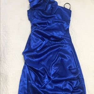 Dresses & Skirts - Cobalt blue cocktail dress